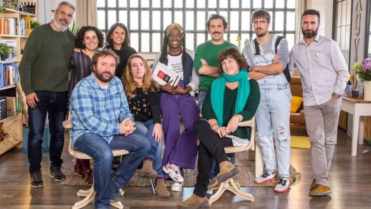 Els protagonistes del nou programa de TV3, ''El llenguado''