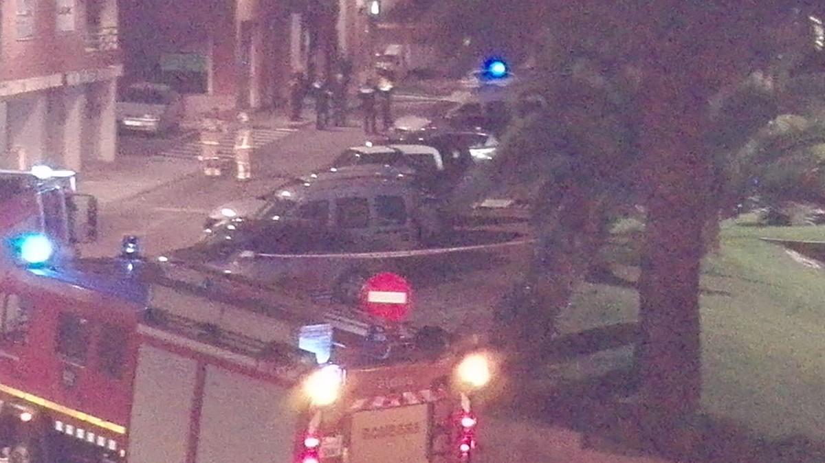 La fuita de gas va afectar un edifici del carrer Vista Alegre, a la Ràpita