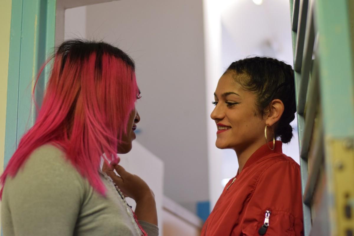 Calani i Paula Montiel, dones trans al centre penitenciari de Wad Ras.