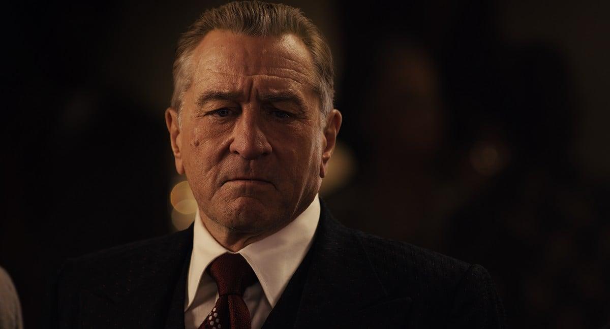 Robert De Niro en el seu paper de Frank Sheeran