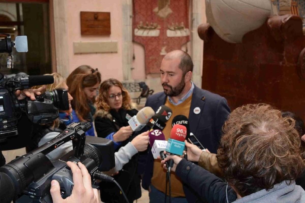 Xavier Puig, conseller de Territori de l'Ajuntament de Tarragona.