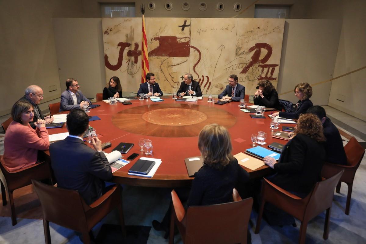 Reunió del Govern del Govern del 19 de novembre del 2019