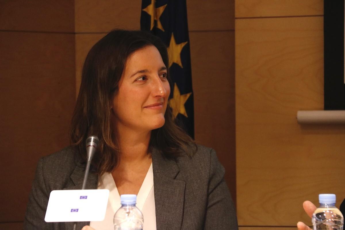 Adriana Ribas, coordinadora d'Amnistia Internacional a Catalunya