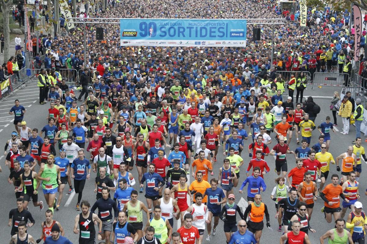 La cursa Jean Bouin cita a 10.000 atletes de diferents categories en la seva 96a edició