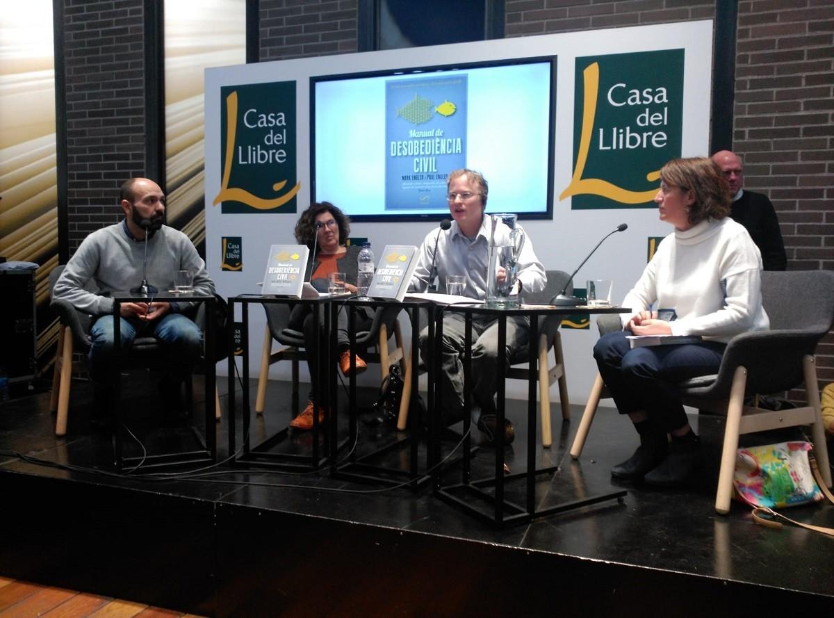 Marcel Mauri, Liz Castro, Paul Engler i Elisenda Paluzie.