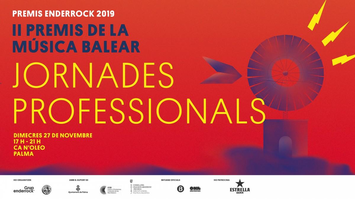Jornades professionals dels Premis Enderrock de la Música Balear 2019