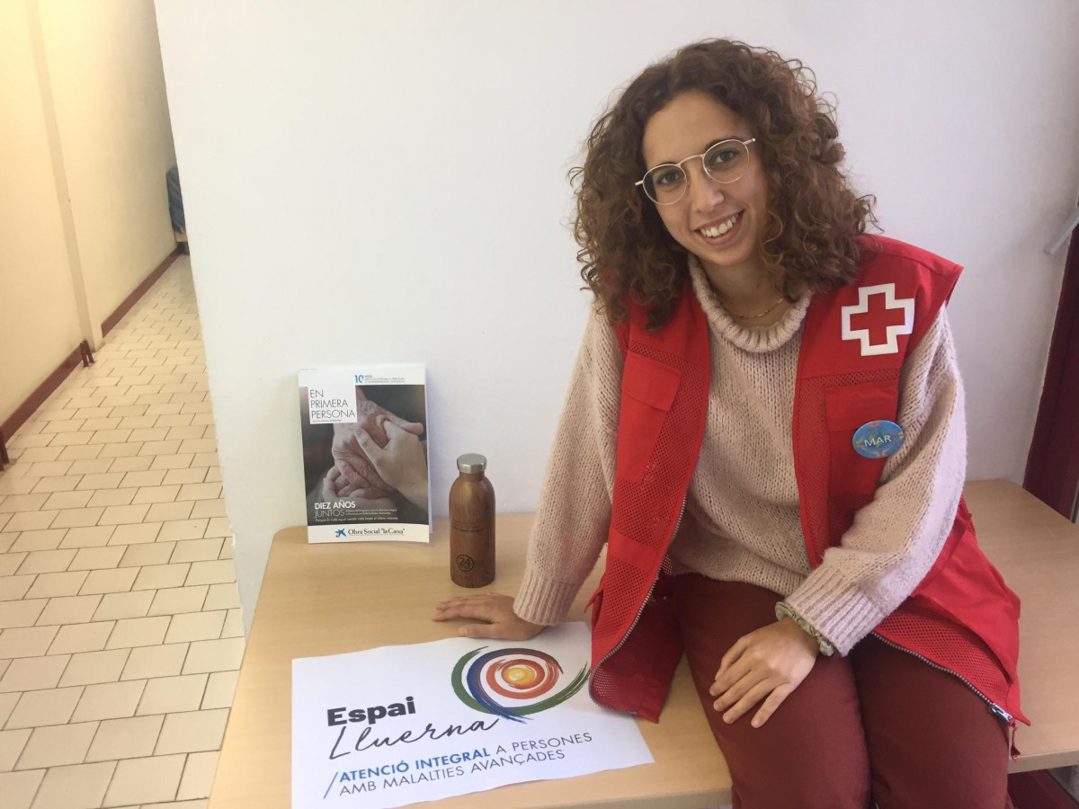 Mar Montagud, psicòloga general sanitària de Creu Roja Granollers