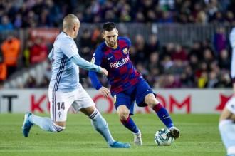 La màgia de Messi sentencia el Celta per mantenir el liderat a la Lliga (4-1)