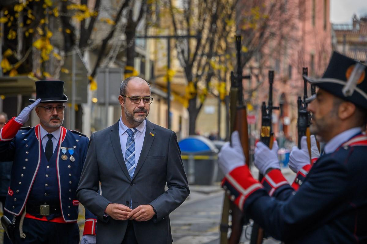 Celebració dels 25 anys del desplegament per Catalunya de Mossos d'Esquadra a Vic