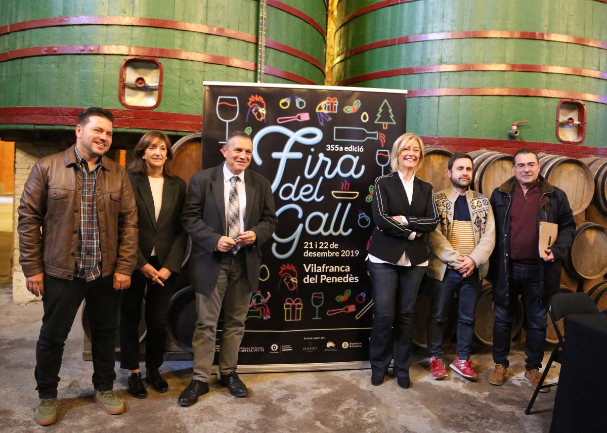 Presentació de la Fira del Gall de Vilafranca