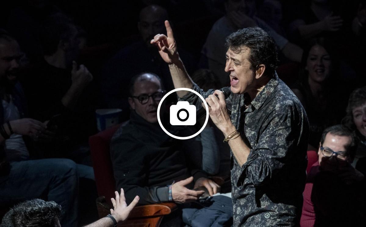 Manolo García al Teatre Tívoli de Barcelona