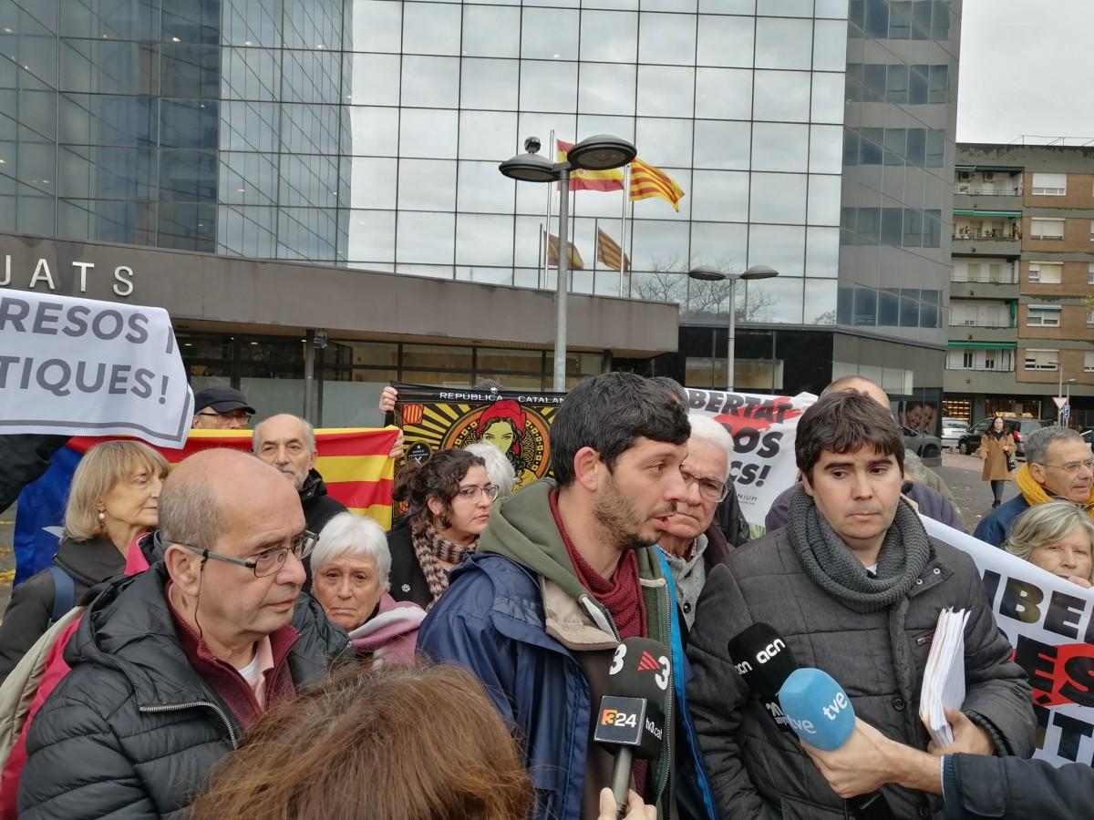 Xavi Pellicer, portaveu d'Alerta Solidària.