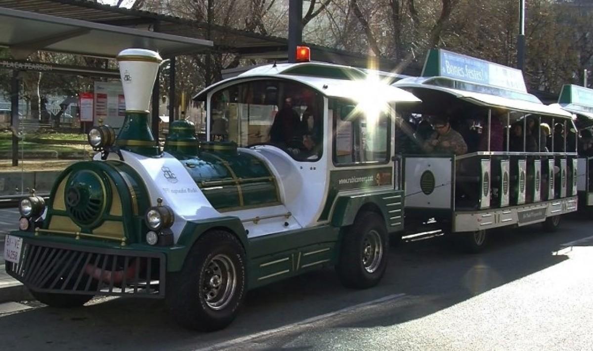 El trenet dels comerciants de Nadal recorrerà els carrers de Rubí