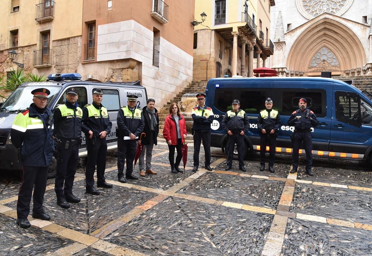 Presentació del dipositiu policial