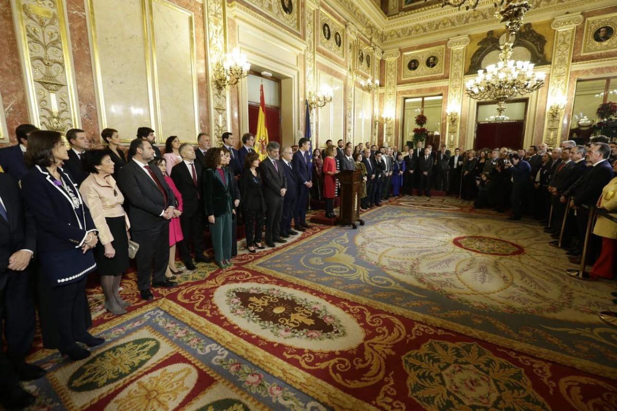 Discurs de Meritxell Batet, durant la commemoració del dia de la Constitució.