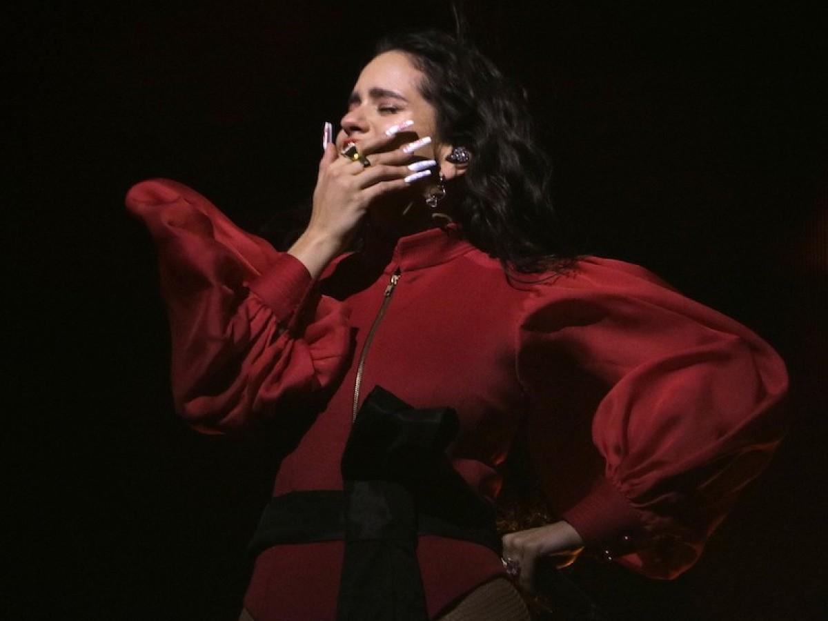 Rosalía, entre les seves ballarines al primer concert al Palau Sant Jordi