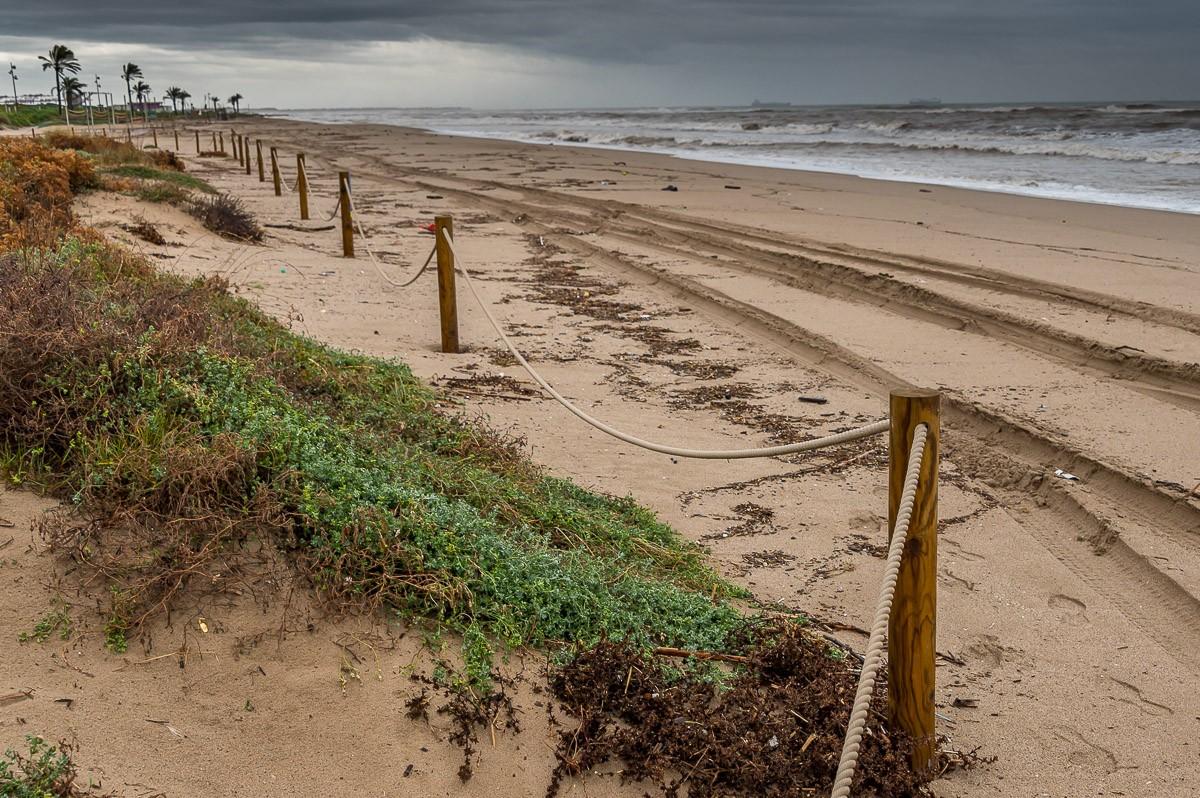 El canvi climàtic agreuja la regressió de les platges metropolitanes