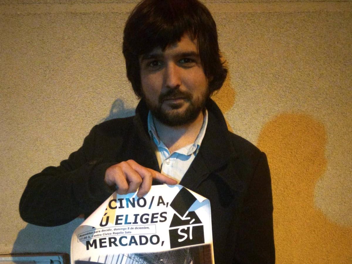 El membre de l'entitat, Ramon Giménez