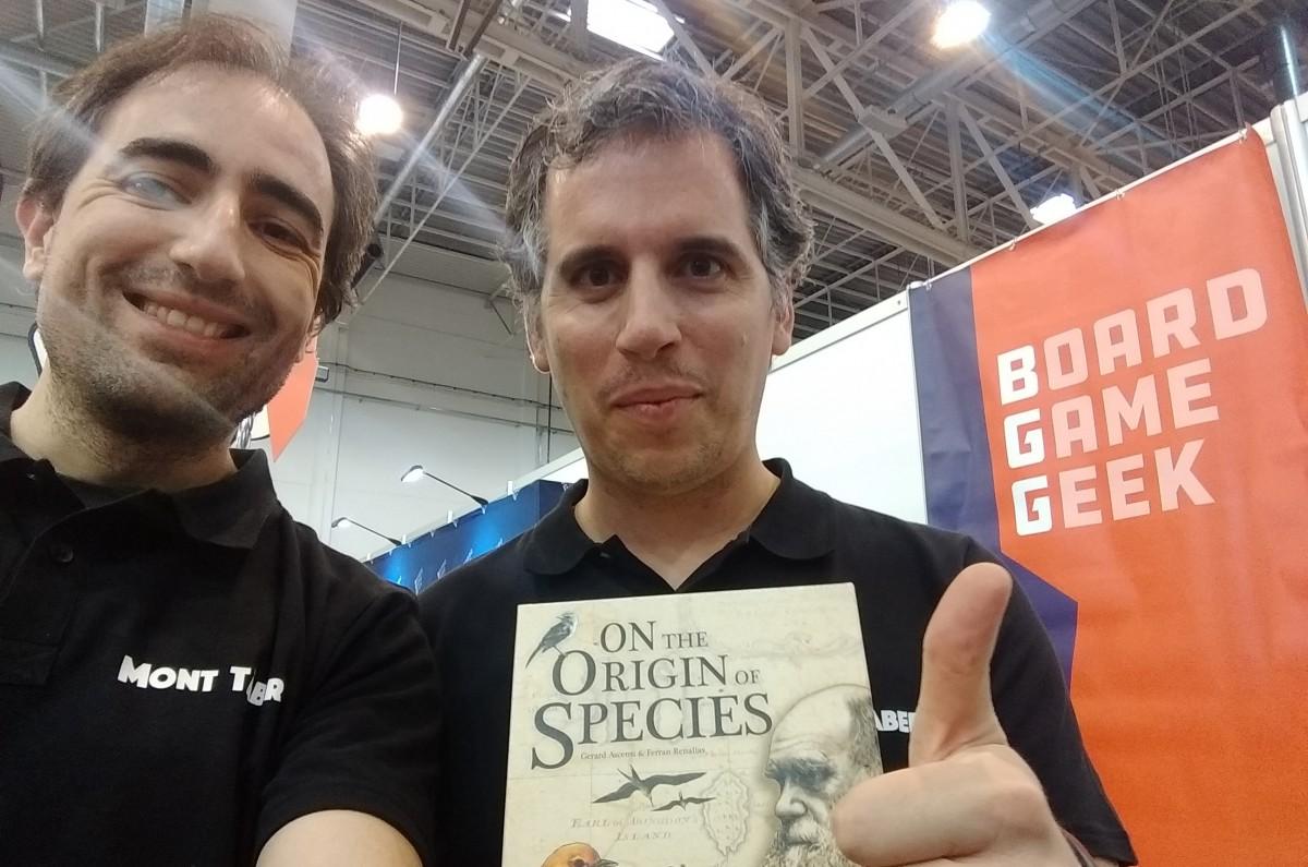 Gerard Asensi i Ferran Renalias, amb la seva exitosa creació