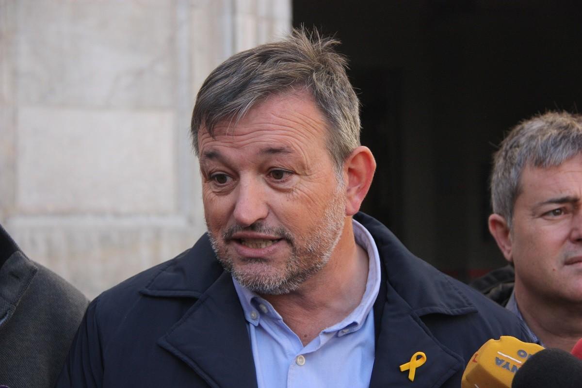 El president de l'AMI, Josep Maria Cervera