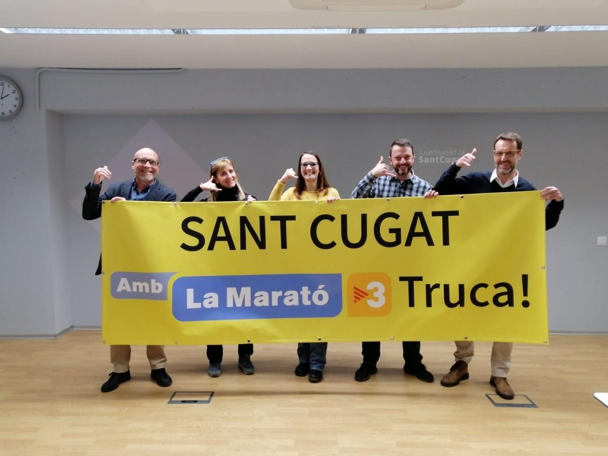 Acte de presentació de les activitats organitzades per la Marató de TV3 2019