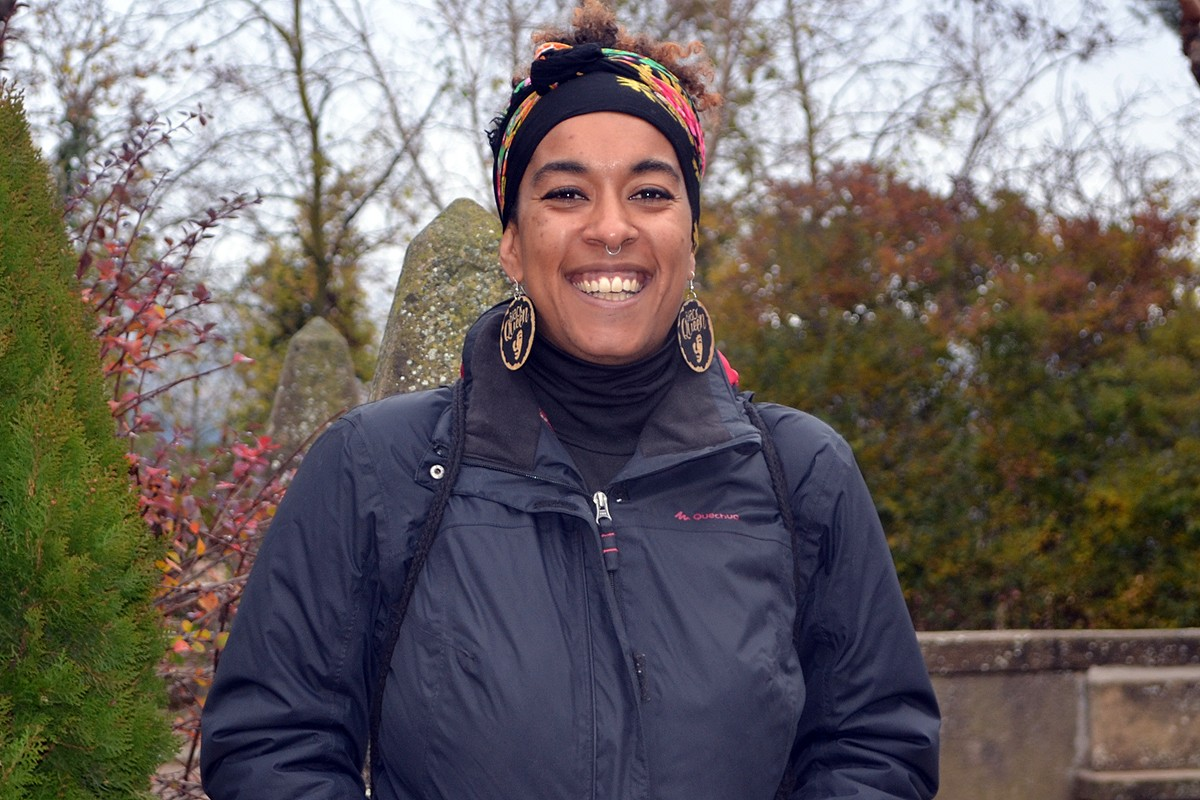 Directora del col·lectiu Afroféminas.