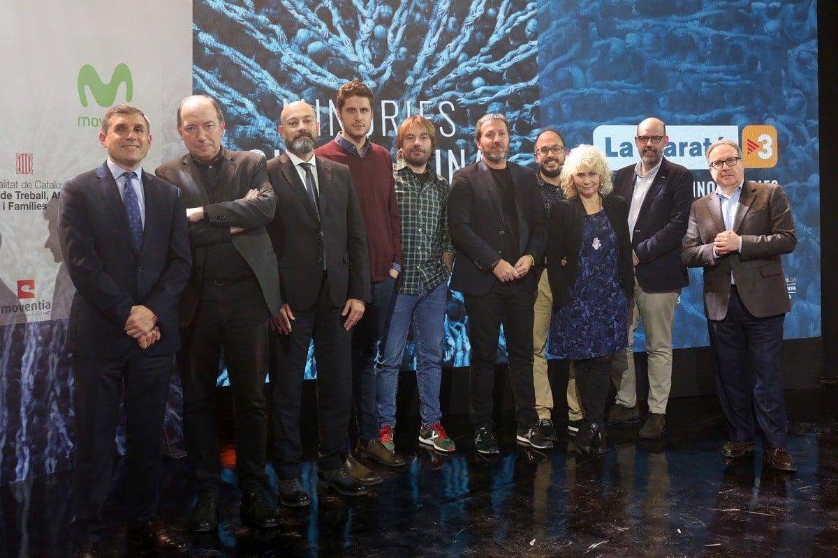Els presentadors i responsables de La Marató 2019 a TV3 i Catalunya Ràdio