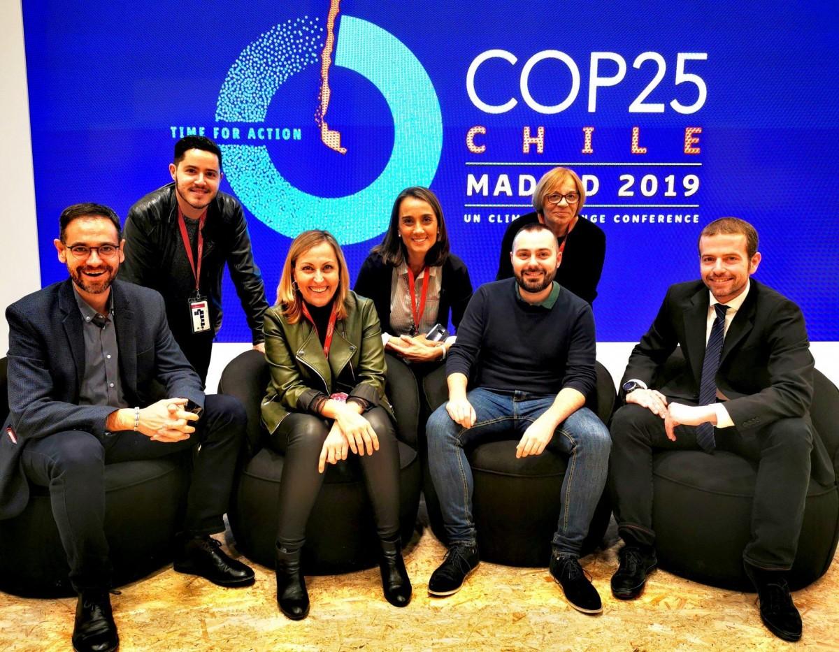 Una delegació del Vallès Occidental, present a la COP25