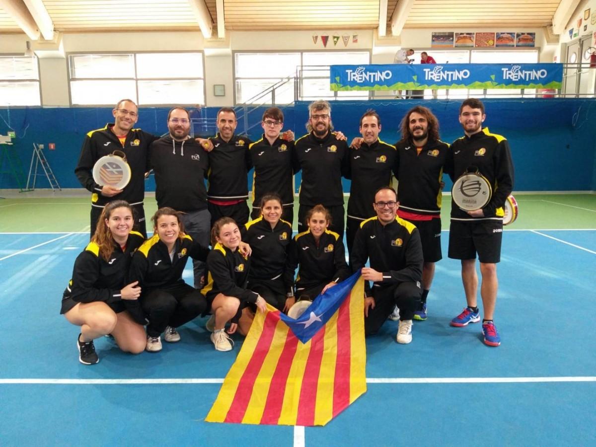 La selecció catalana femenina obté a Itàlia el tercer bronze en tres participacions al mundial
