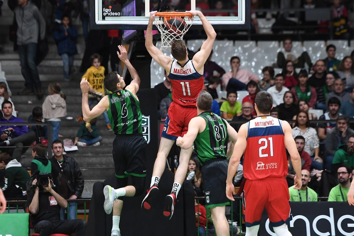 William Magarity jugarà les finestres FIBA amb Suècia