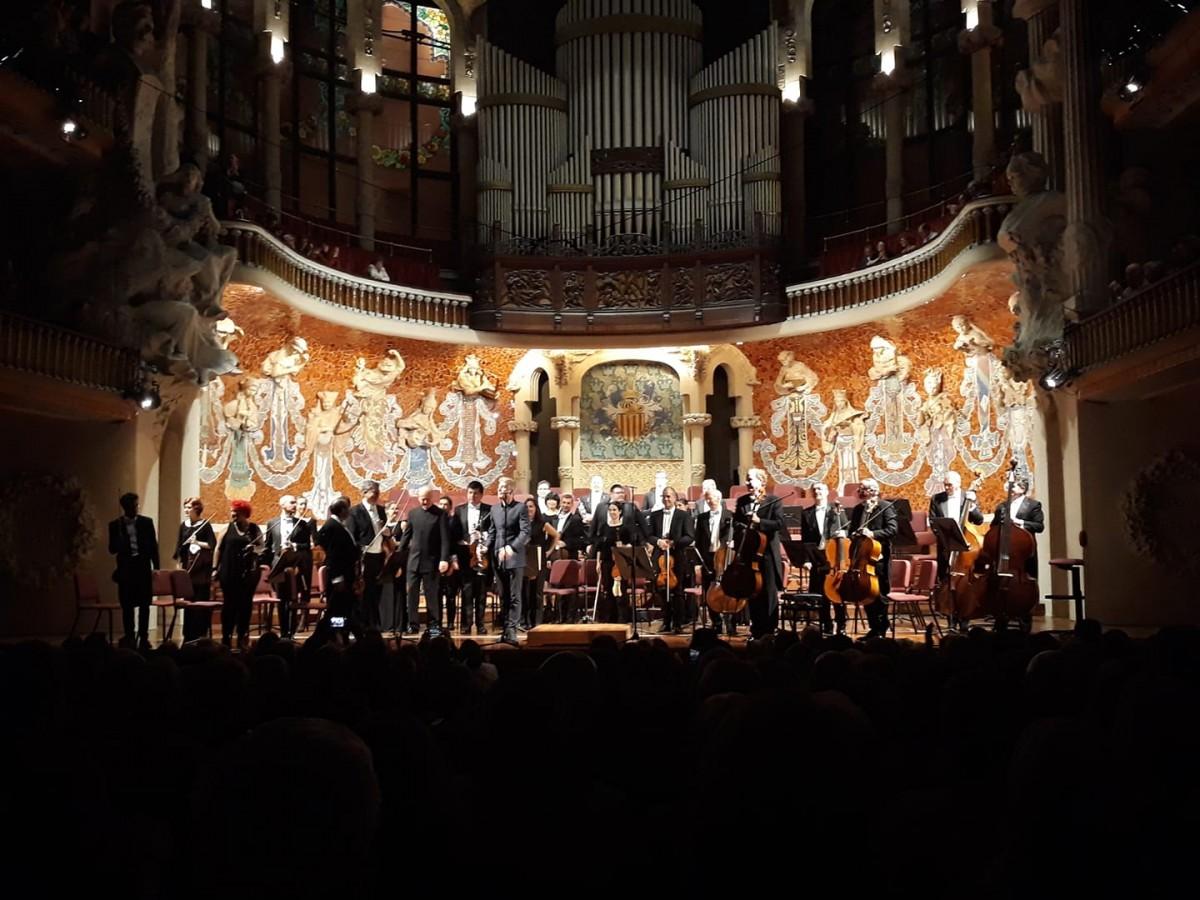 L'Orquestra de Cadaqués, l'11 de desembre passat al Palau de la Música