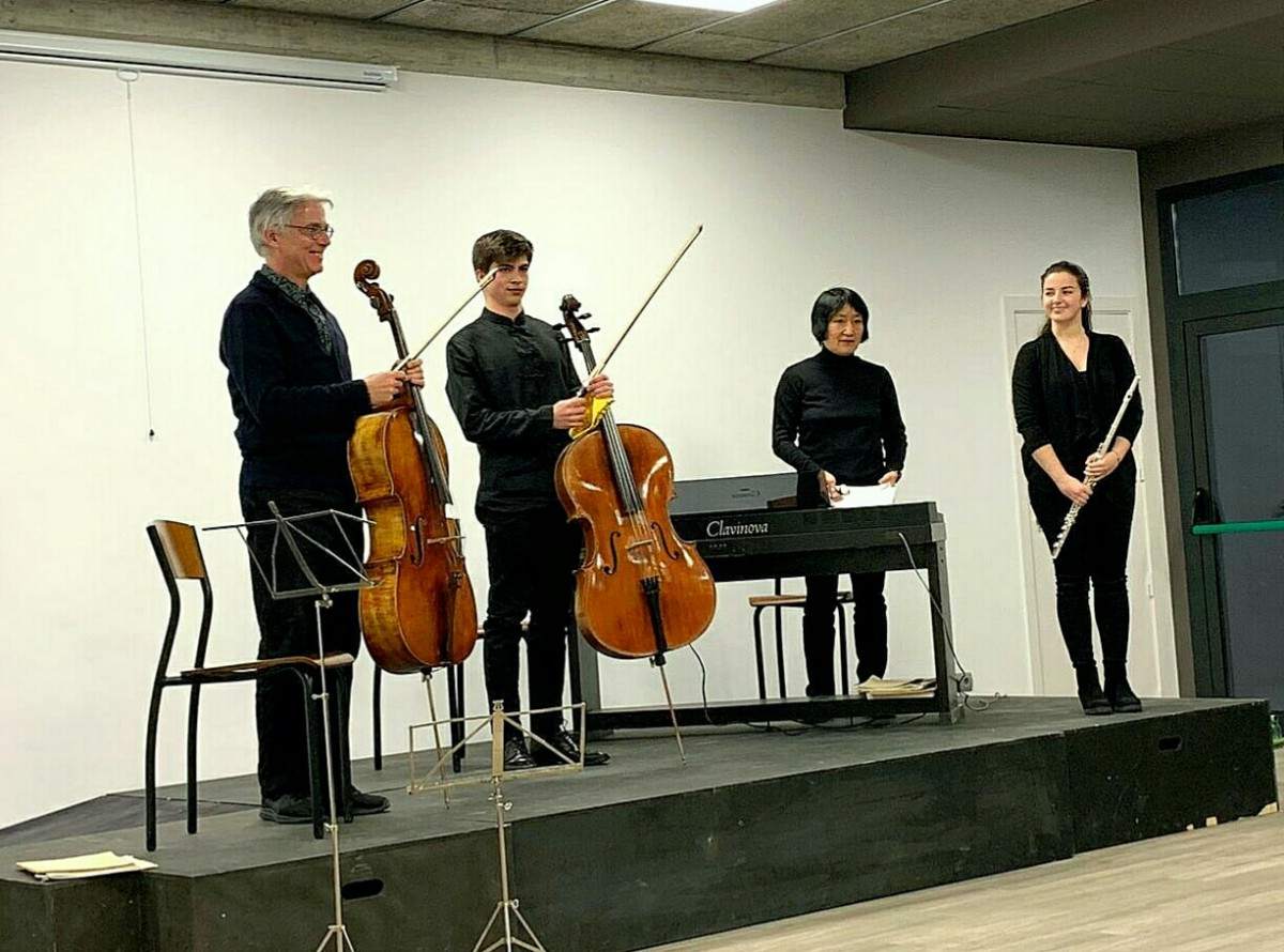 El concert va anar a càrrec del  Gerard Flotats, Paula Jané, Peter Thiemann i Seonhee Myong