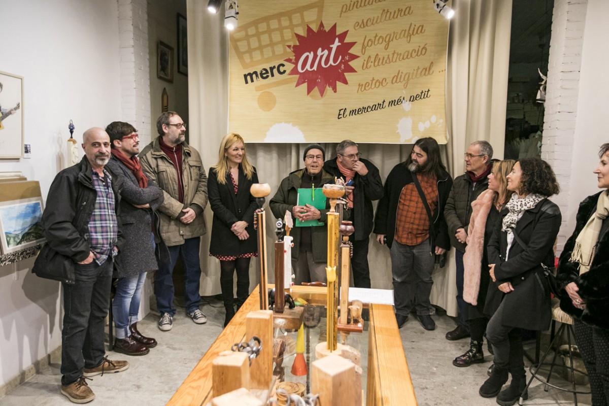 El Merc'Art va obrir les seves portes dissabte i estarà obert fins el 6 de gener