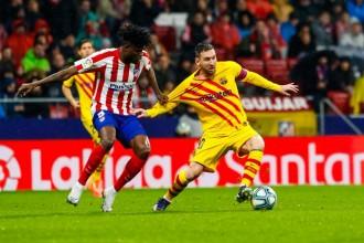 El Barça surt viu del Wanda Metropolitano gràcies a un gol de Messi