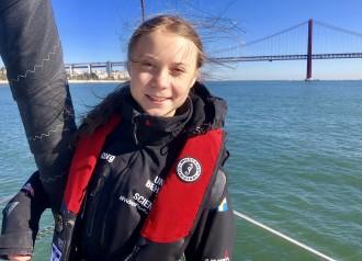 Greta Thunberg arriba a Madrid per participar en la Marxa pel Clima