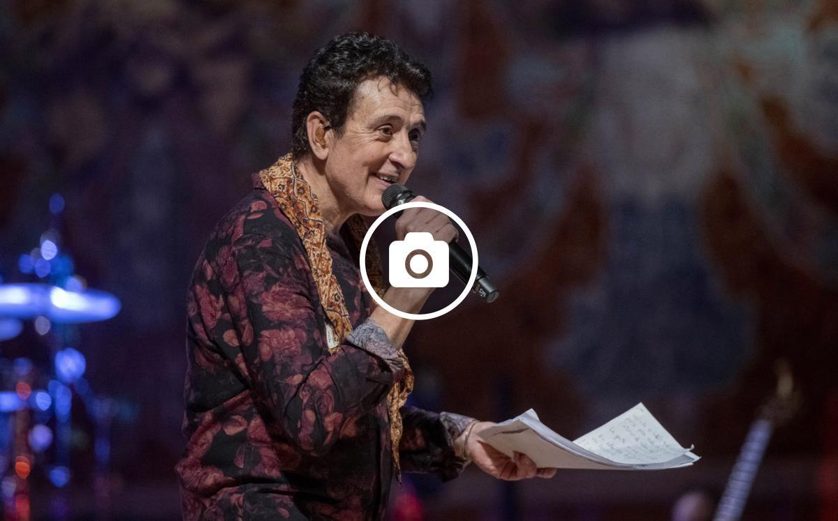 Manolo García al Palau de la Música Catalana