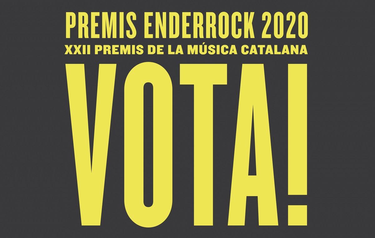 Votació popular Premis Enderrock 2020