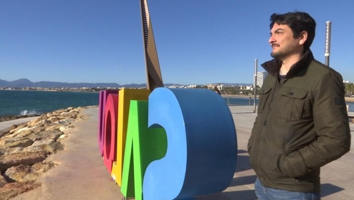Jordi Perales, usuari afectat pel corredor mediterrani.