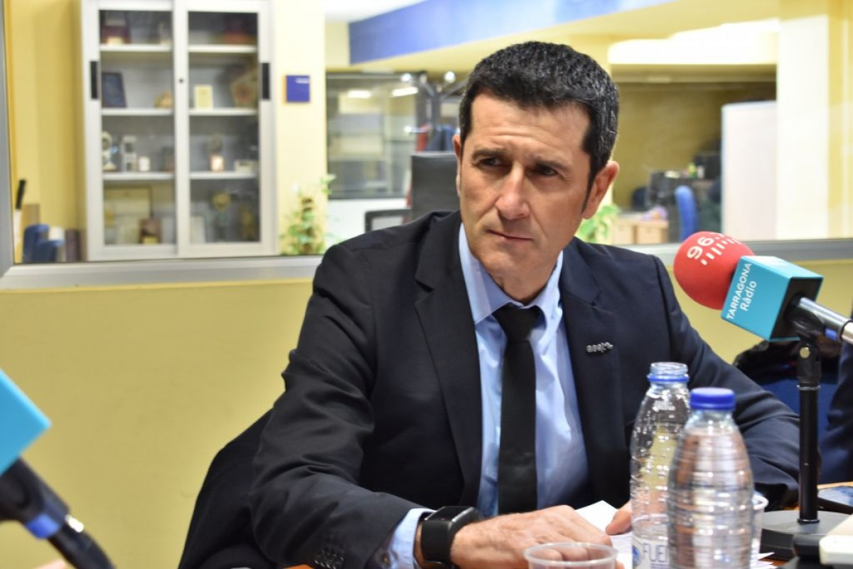 El president de l'AEQT, Rubén Folgado