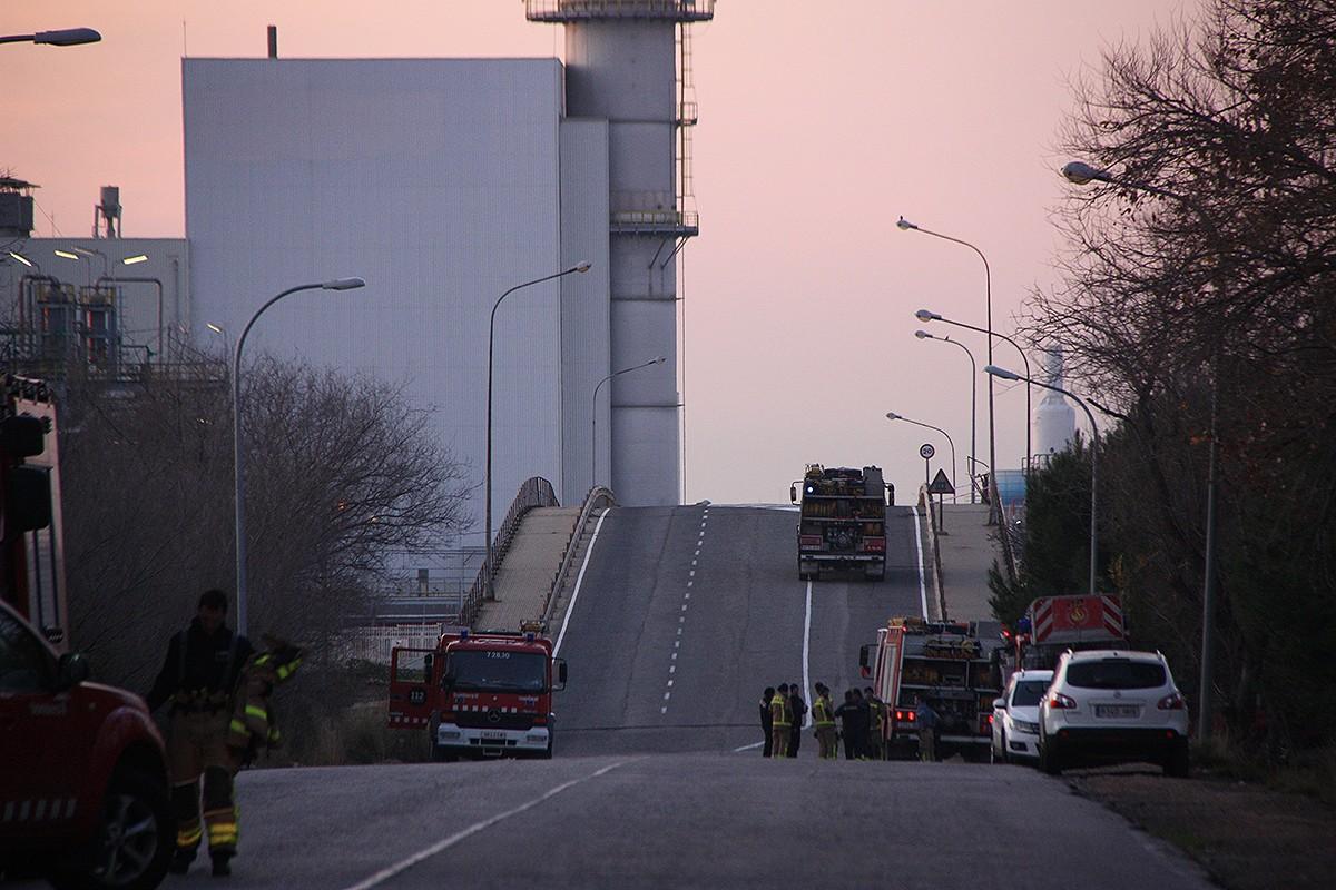 L'empresa de Tarragona on va haver-hi l'explosió.