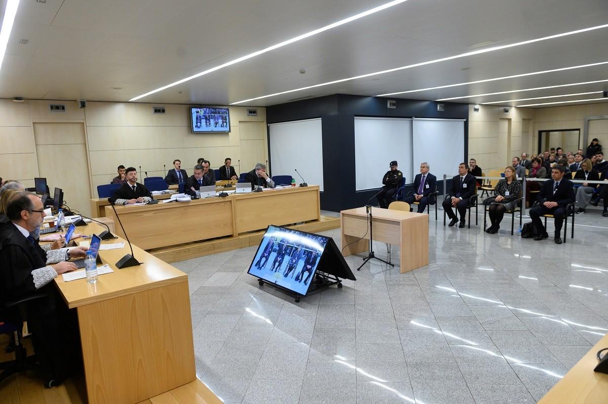 Judici a l'anterior cúpula dels Mossos a l'Audiència Nacional