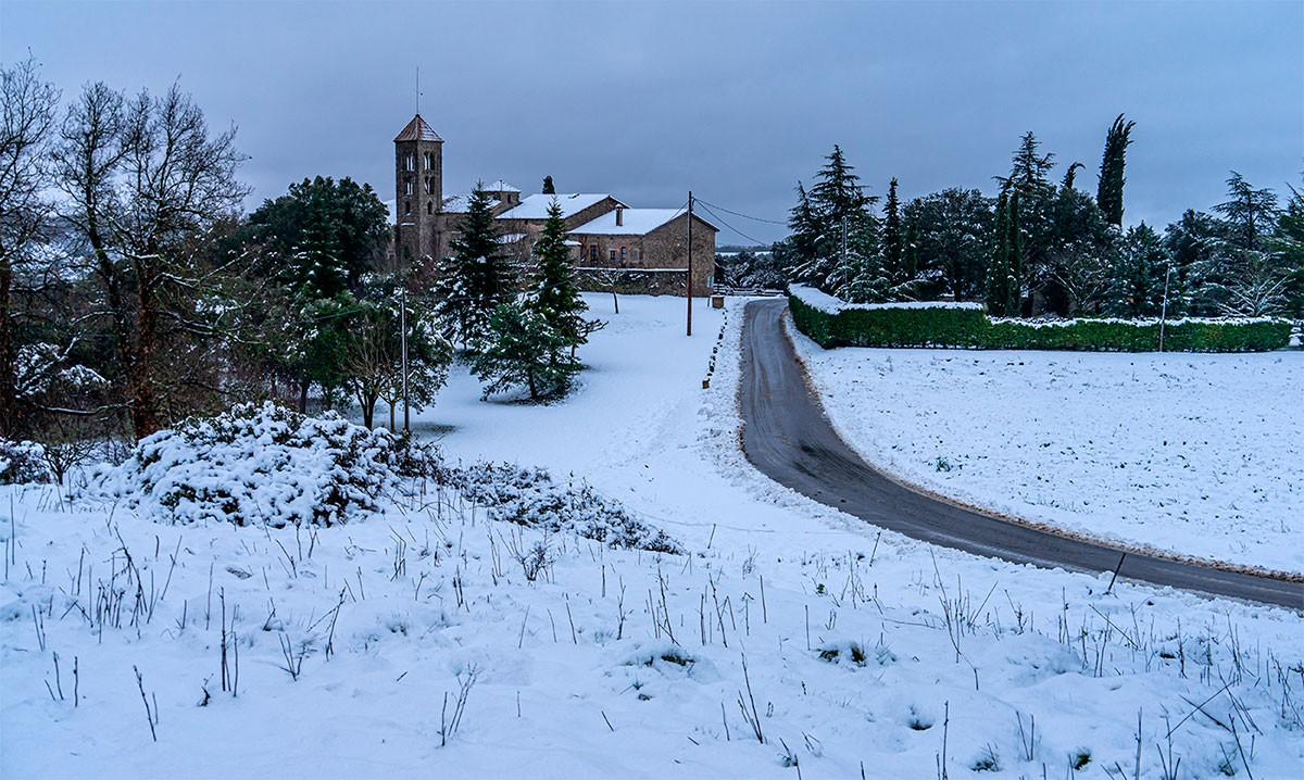 Neu a Sant Julià Sassorba