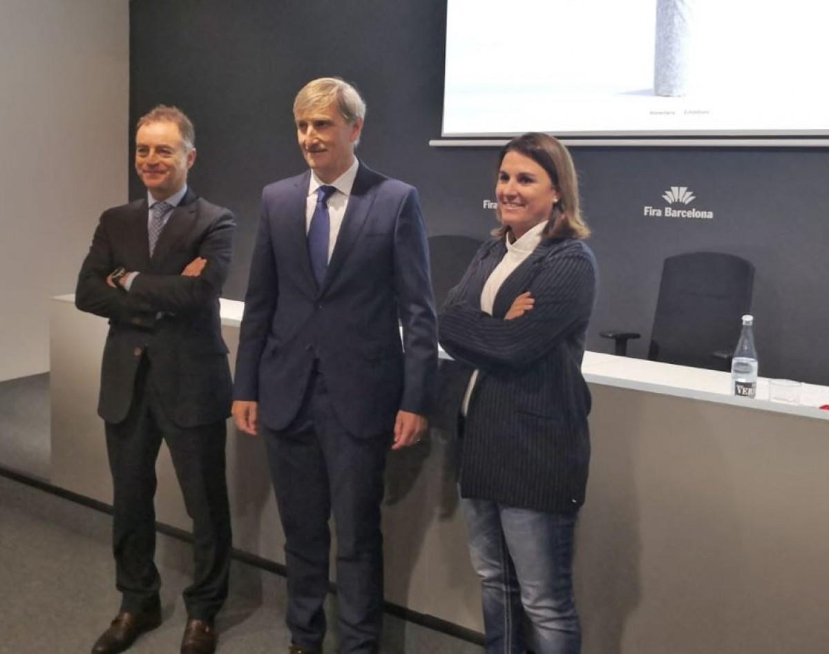 J. Antonio Valls, Javier Pagés i Marta Macías