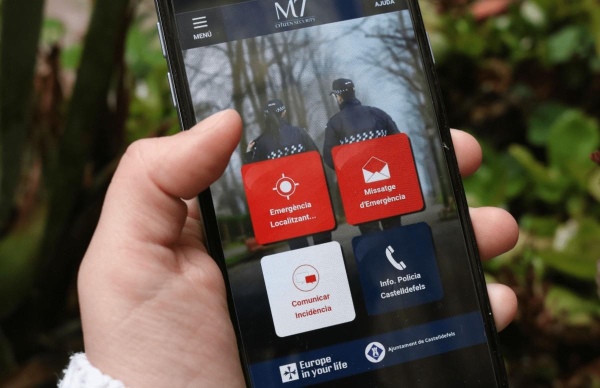 L'Ajuntament de Castelldefels també fa servir l'aplicació 'M7 Citizen Security'