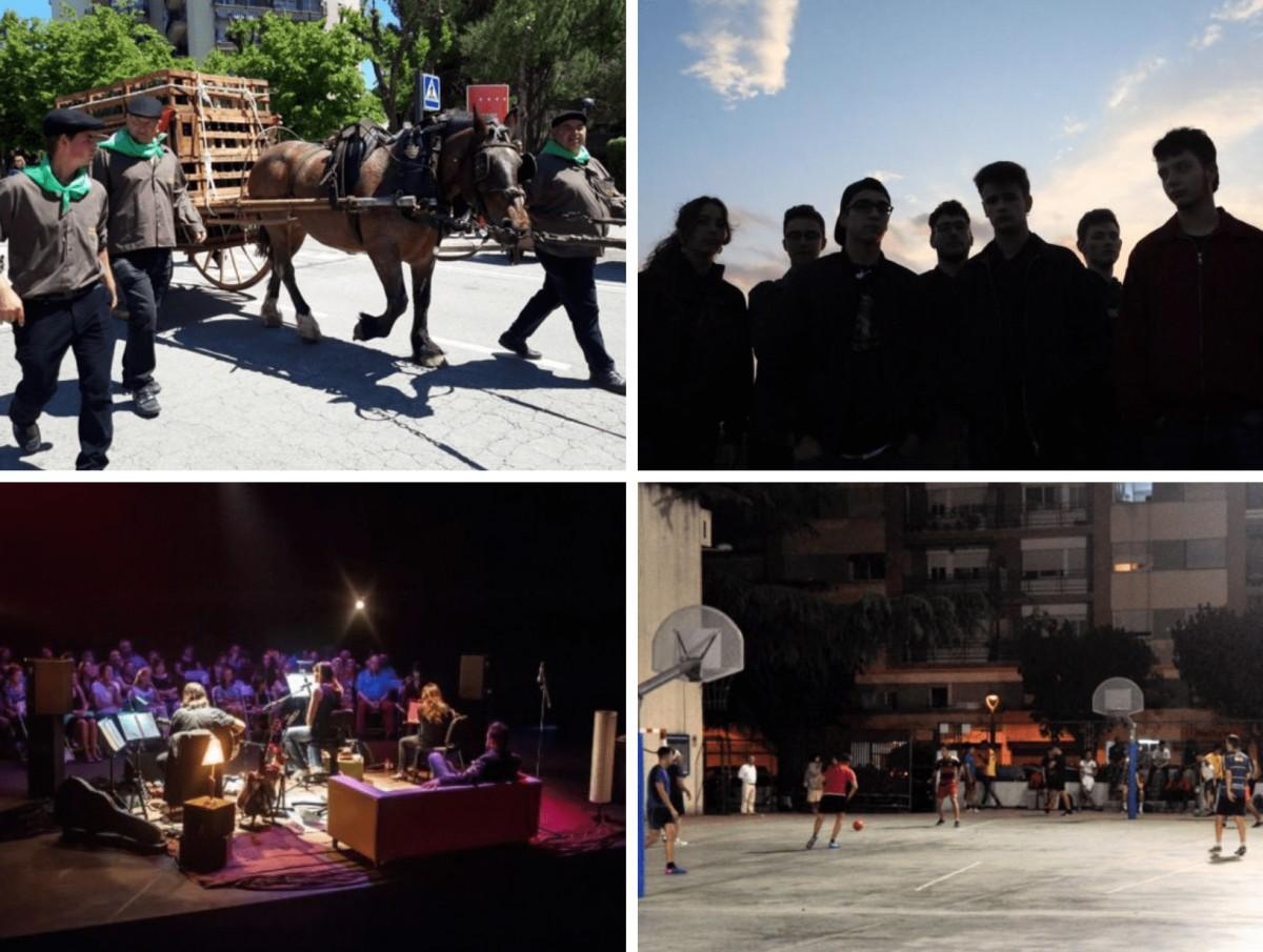 Algunes de les activitats del cap de setmana a Rubí