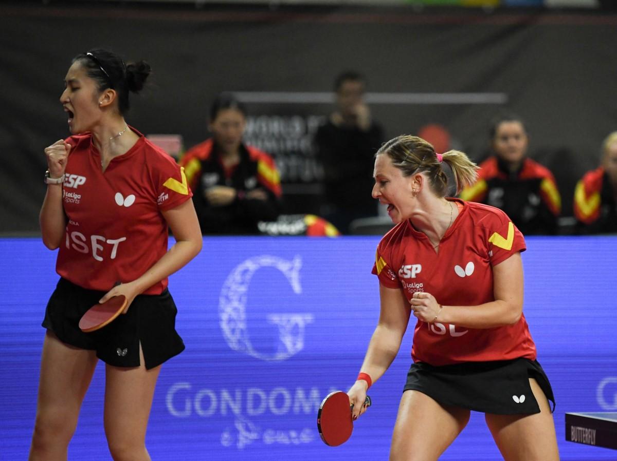 Galia Dvorak i Sofia-Xuan Zhang intentaran certificar el bitllet olímpic contra Àustria