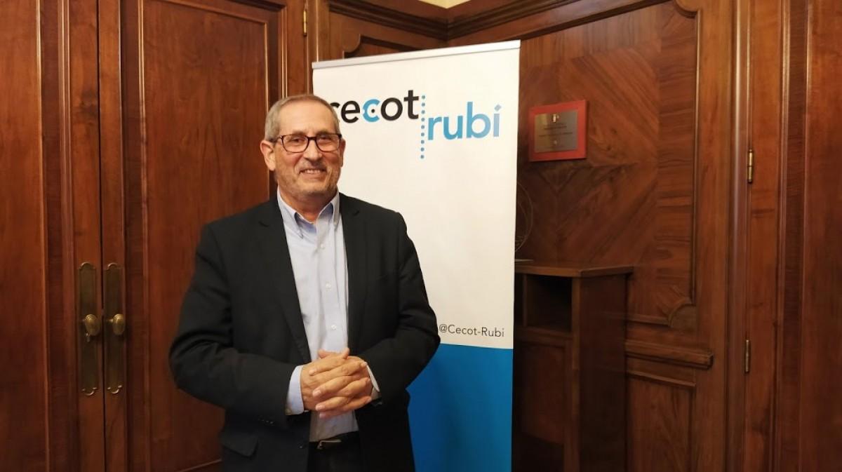 Manuel Jiménez, president del Fòrum Empresarial Cecot Rubí