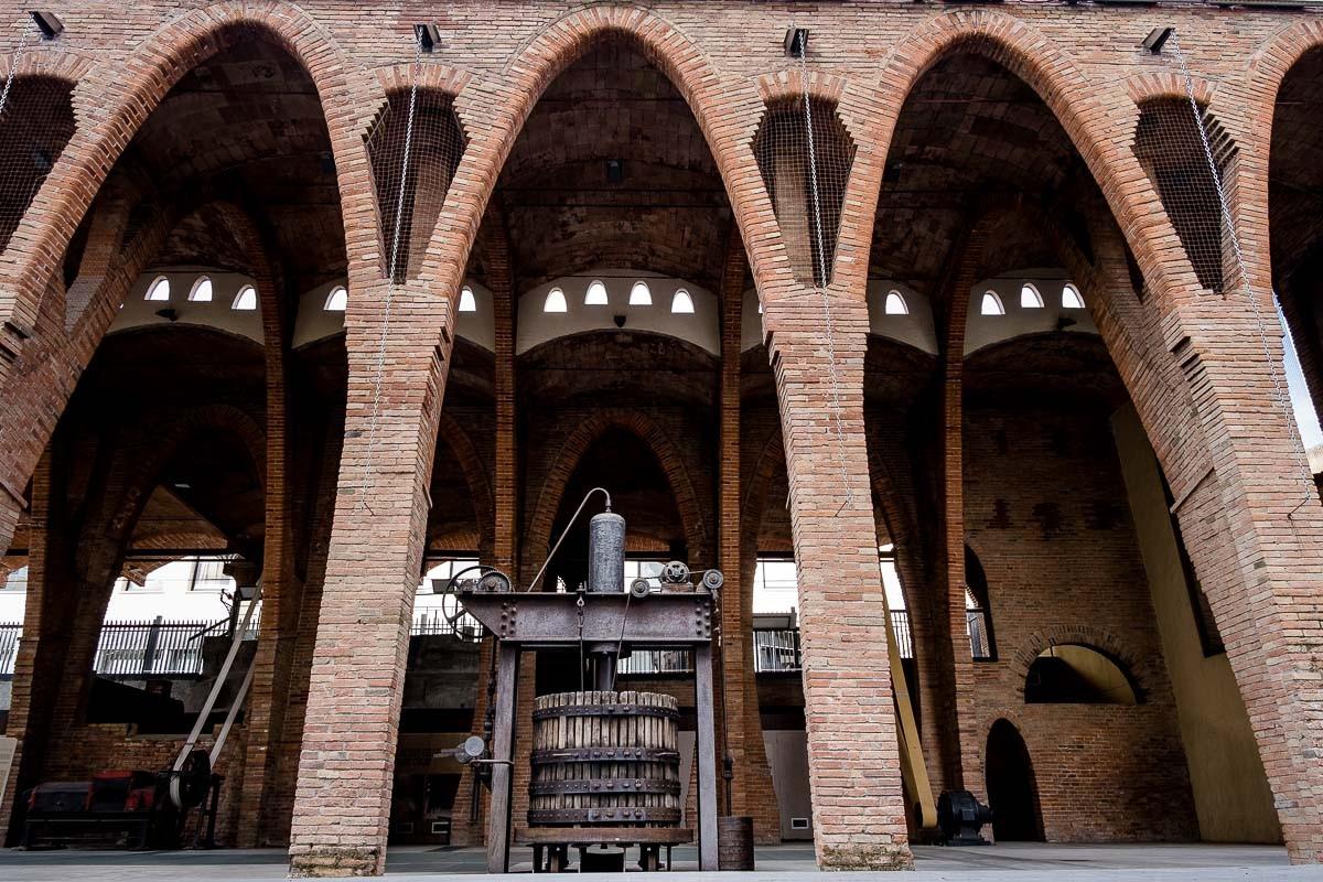 Celler Modernista de Sant Cugat.