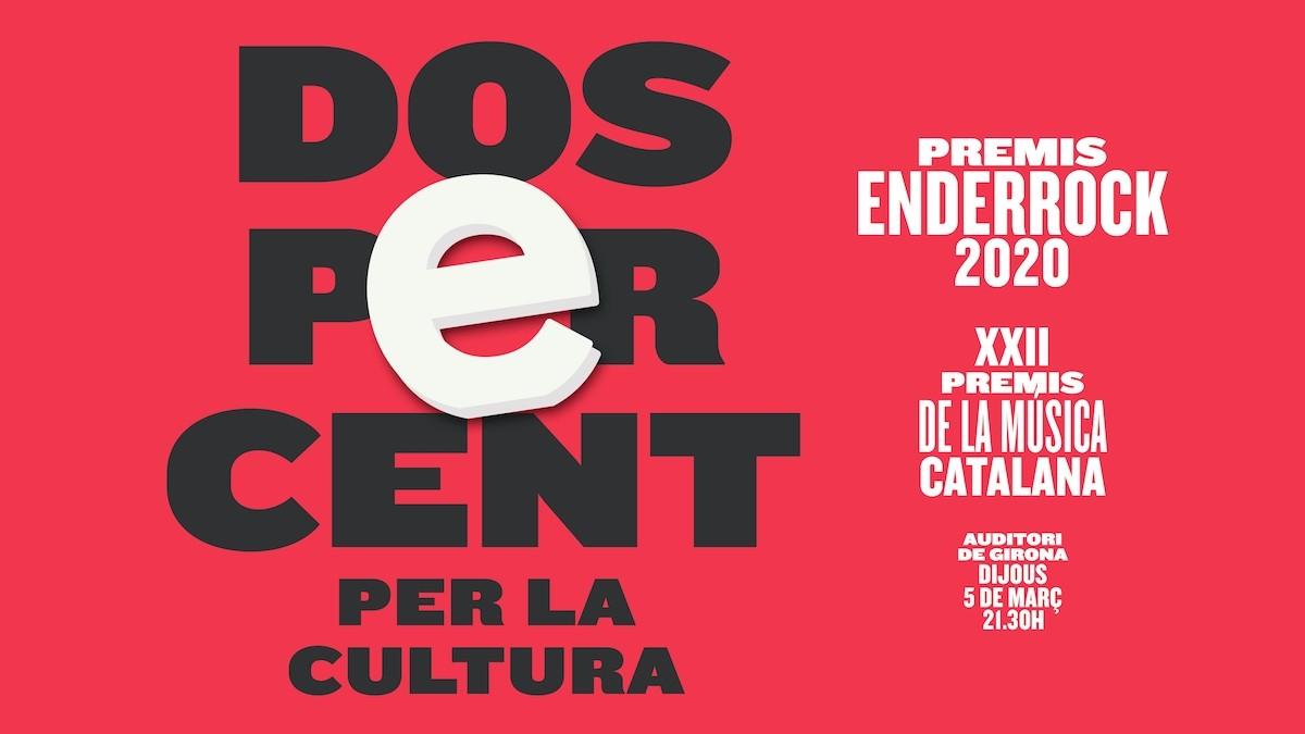 Cartell Premis Enderrock 2020