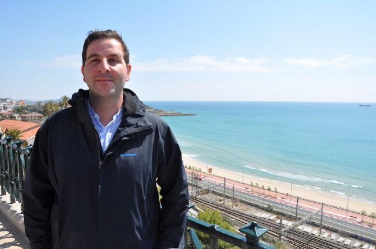 El diputat Ismael Cortes al Balcó del Mediterrani de Tarragona